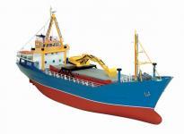 Baukasten Küstenfrachter mit 4 Luken