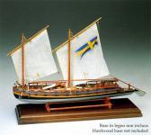 Baukasten Schwedisches Gunboat 1775