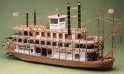 Bauplan Mississippi-Dampfer