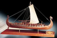 Bauplan Wikingerschiff Oseberg 1:50