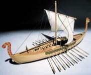 Bauplan Wikingerschiff