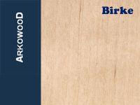 Holzbrettchen Birke 1 x 80 x 500 mm
