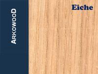 Holzbrettchen Eiche 3 x 80 x 500 mm