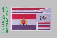 Flaggensatz Dolphyn