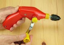 Handbohrmaschine bis 6,4 mm Pistolengriff