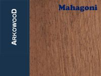 Holzbrettchen Mahagoni 1 x 80 x 500 mm