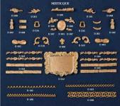 Metall- / Gußbeschlagteilesatz Misticque