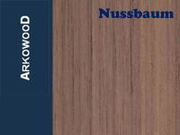 Holzbrettchen Nussbaum 8 x 100 x 1000 mm