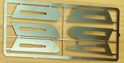 Sägeklingen-Set 6 Klingen für Skalpelle 492100/492101