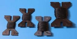 Takelgarn 1,00 mm schwarz 10 m