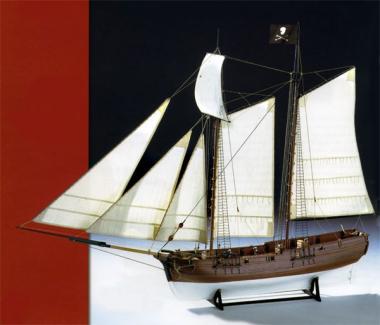 Bauplan Piratenschiff Adventure 1:60