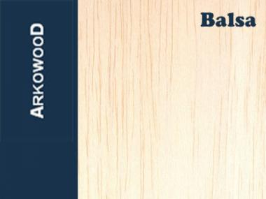 Holzbrettchen Balsa 3 x 100 x 1000 mm