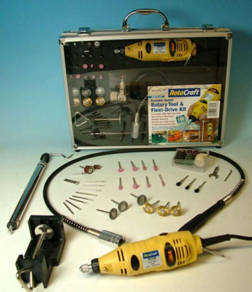 Bohrmaschinenset 230 V Flexwelle
