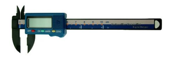 Digital Schieblehre 100 mm Kunststoff