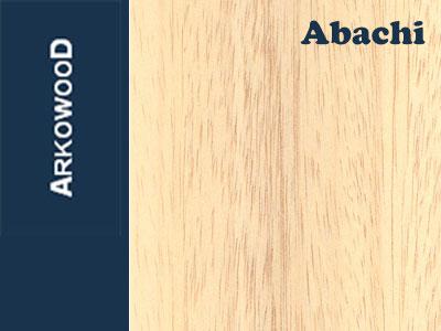 Holzbrettchen Abachi 1 x 100 x 1000 mm