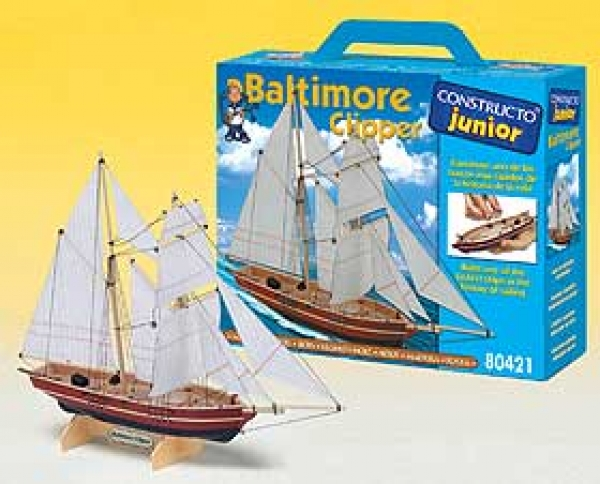 Junior-Bausatz Baltimore Clipper