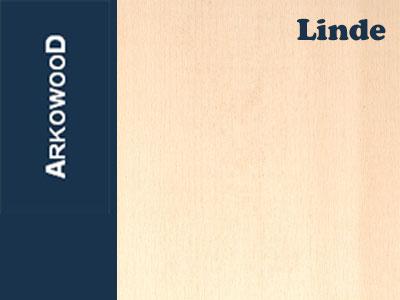 Holzbrettchen Linde 2 x 100 x 1000 mm