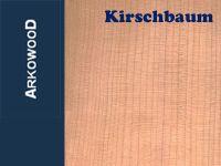 Holzbrettchen Kirschbaum 4 x 100 x 1000 mm