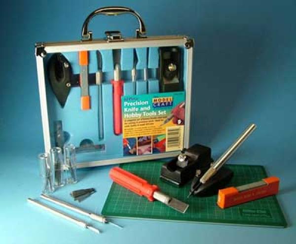 Messer- u. Werkzeugsatz 50 Teile + Schneidmatte colour