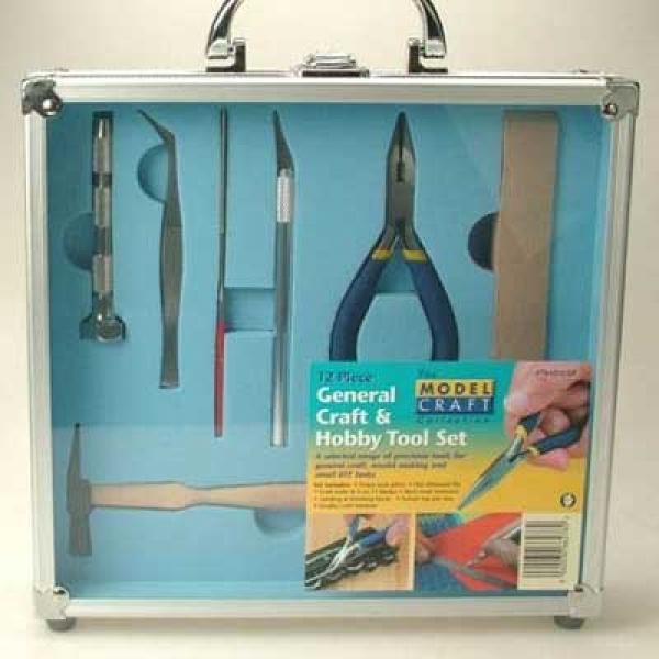 Modellbau Werkzeugset 12 Teile