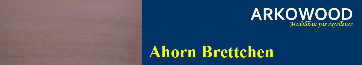 Brettchen Ahorn