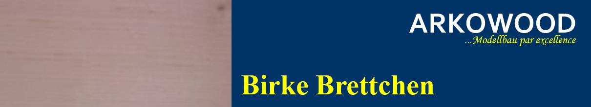 Brettchen Birke
