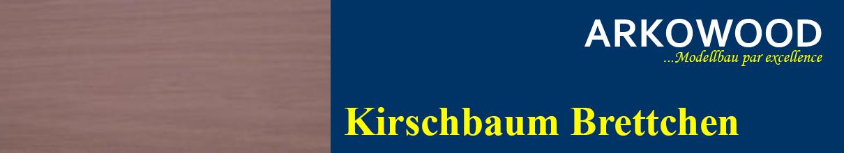 Brettchen Kirschbaum